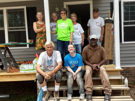 PGO and Habitat's Building on Faith Home in New Kent