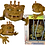 Thumbnail: Boglins Gold Horned- King Dwork (série limitée)