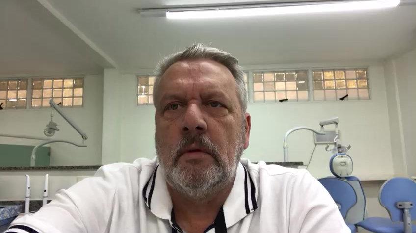 Chamada em vídeo do professor Paulo Quagliatto para o curso de Resina Composta