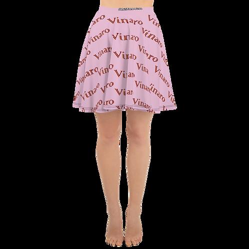 Vinaro Women Skater Skirt Pink