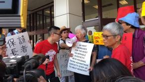 在洛杉矶华埠,反针对亚裔暴力犯罪的发起人者是西装革履的开发商