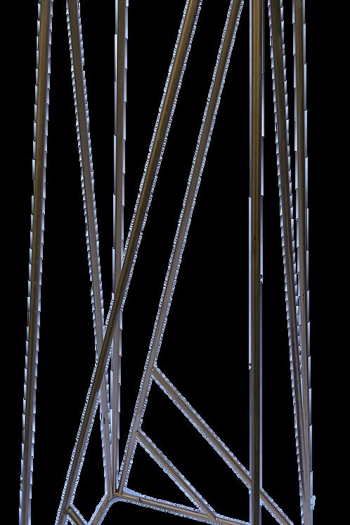 Geometric Metal Stand