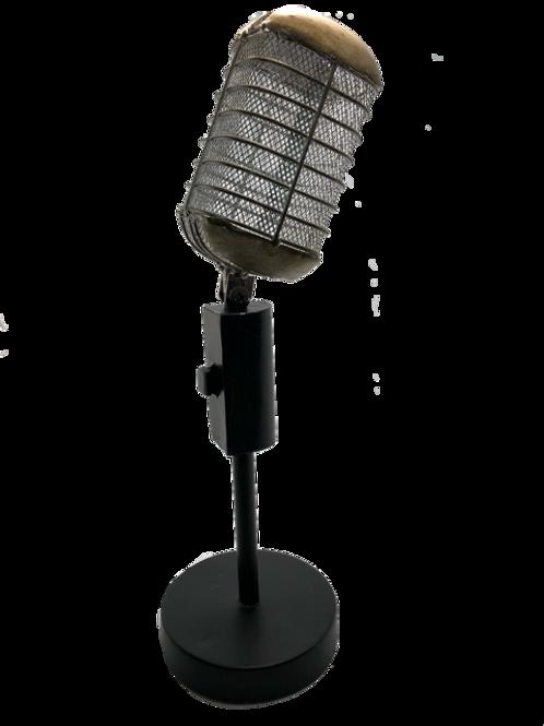 Microphone Table Decor