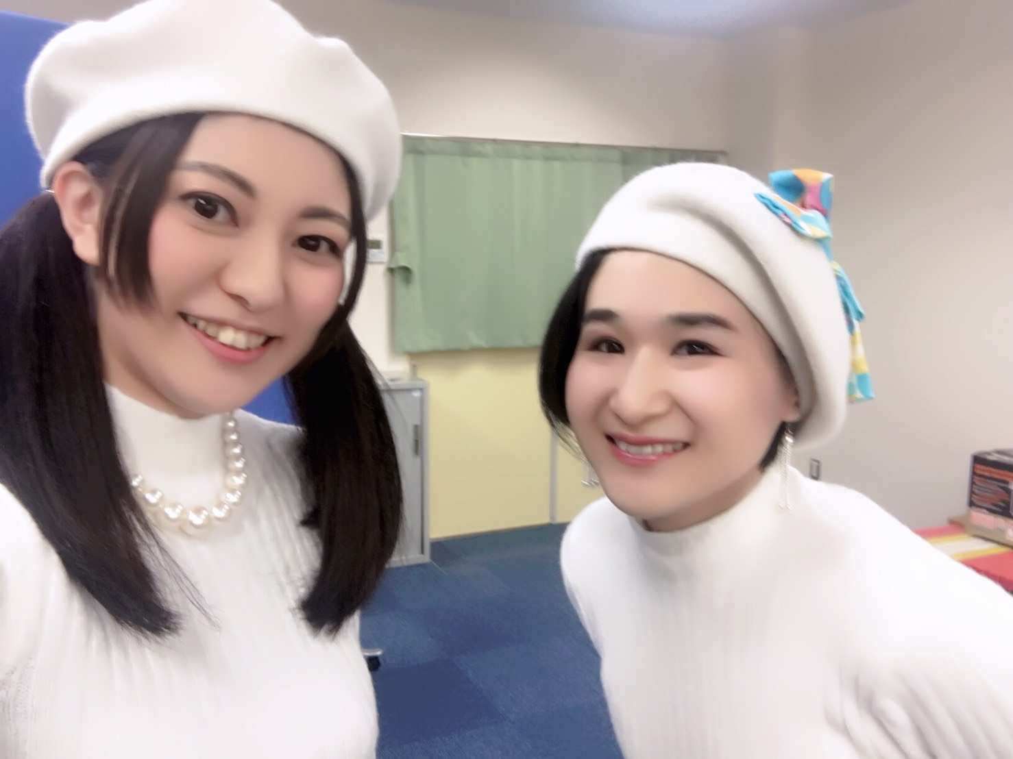 ベレー帽可愛い♡