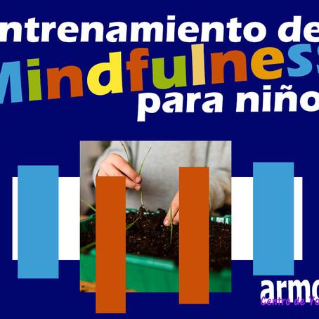 Entrenamiento de mindfulness para niños, a través de juego y meditaciones entrañables.