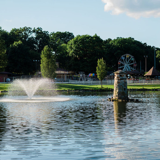 Pond & Fountain