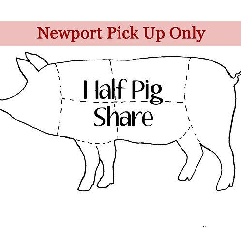 Half Pig Share-Newport Pickup at Butcher