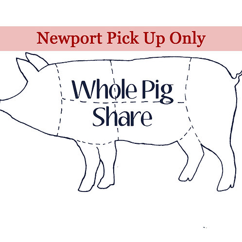 Whole Pig Share-Newport Pickup at Butcher