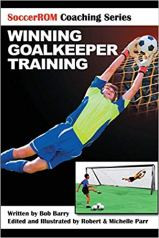 Capa do livro winning goalkeeper training