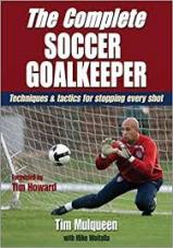 Capa do livro the complete soccer goalkeeper