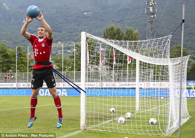 Resultado de imagem para strength training goalkeeper