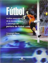 Capa do livro futbol analisis sistematico de la tecnica tactica y psicologia del portero de futbol