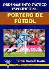 Capa do livro ordenamiento tactico especifico del portero de futbol