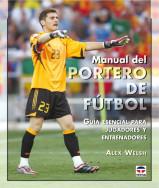 Capa do livro manual del portero de fútbol