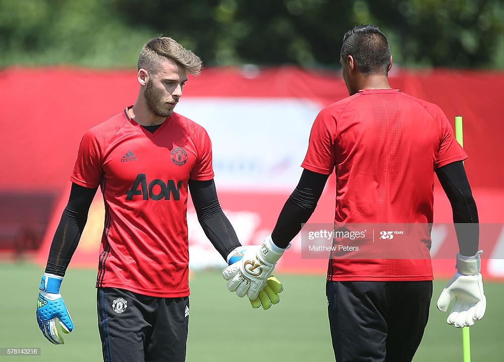 Manchester United Training Session : Fotografia de notícias