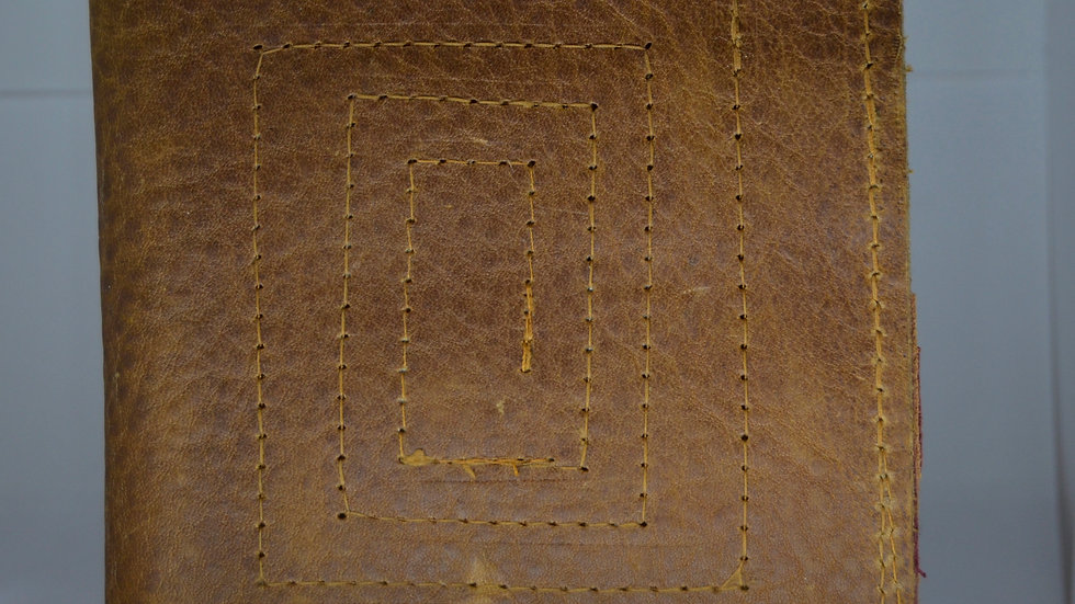 Labrynth Leather Wallet