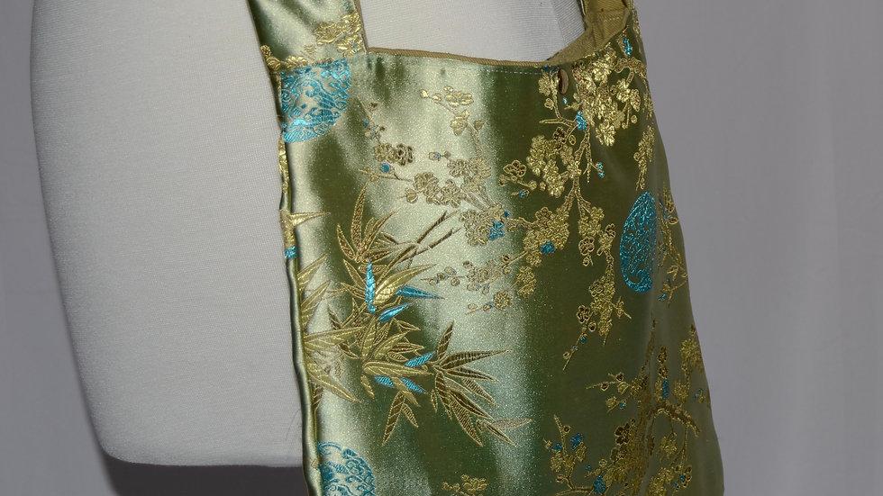 Oriental Fabric Cloth Crossbody Bag