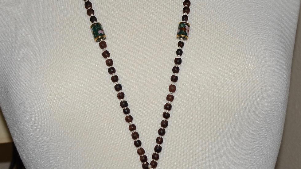 Simple Lotus Necklace