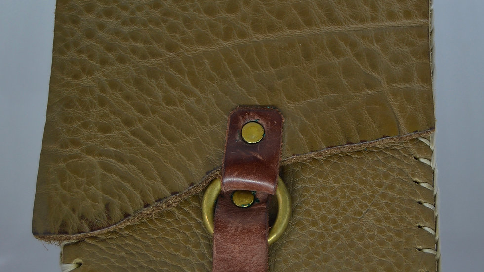 Simple Green Leather Wallet