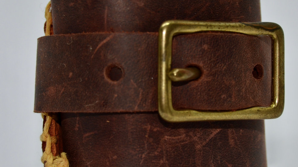 Handstiched Leather Cuff