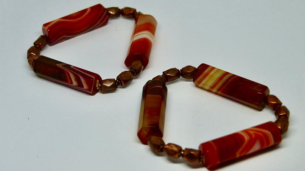 Carnelian Goddess Bracelets