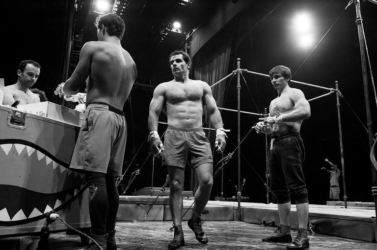 Cirque Du Soleil Rehearsal