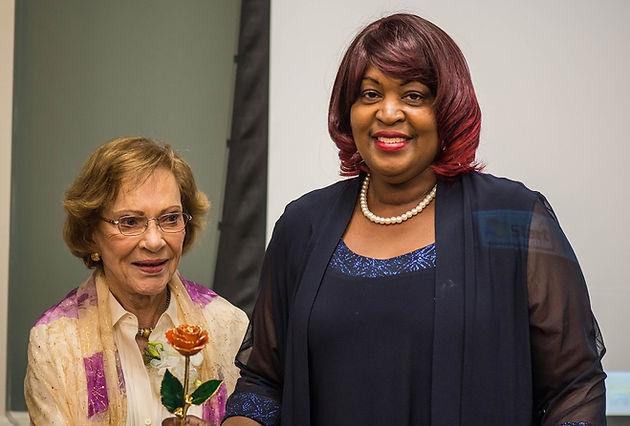 Shelia Smith of Palmetto, GA receives Rosalynn Carter Institute's