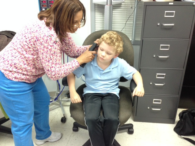 Dr. Gaspard - hearing test.JPG