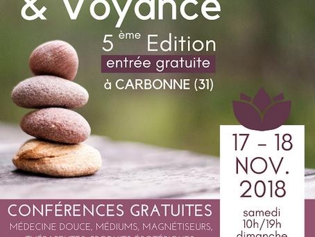 Salon Bien-être et Voyance à Carbonne 2018