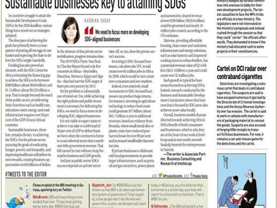 Karnika Yadav sustainable-businesses-key