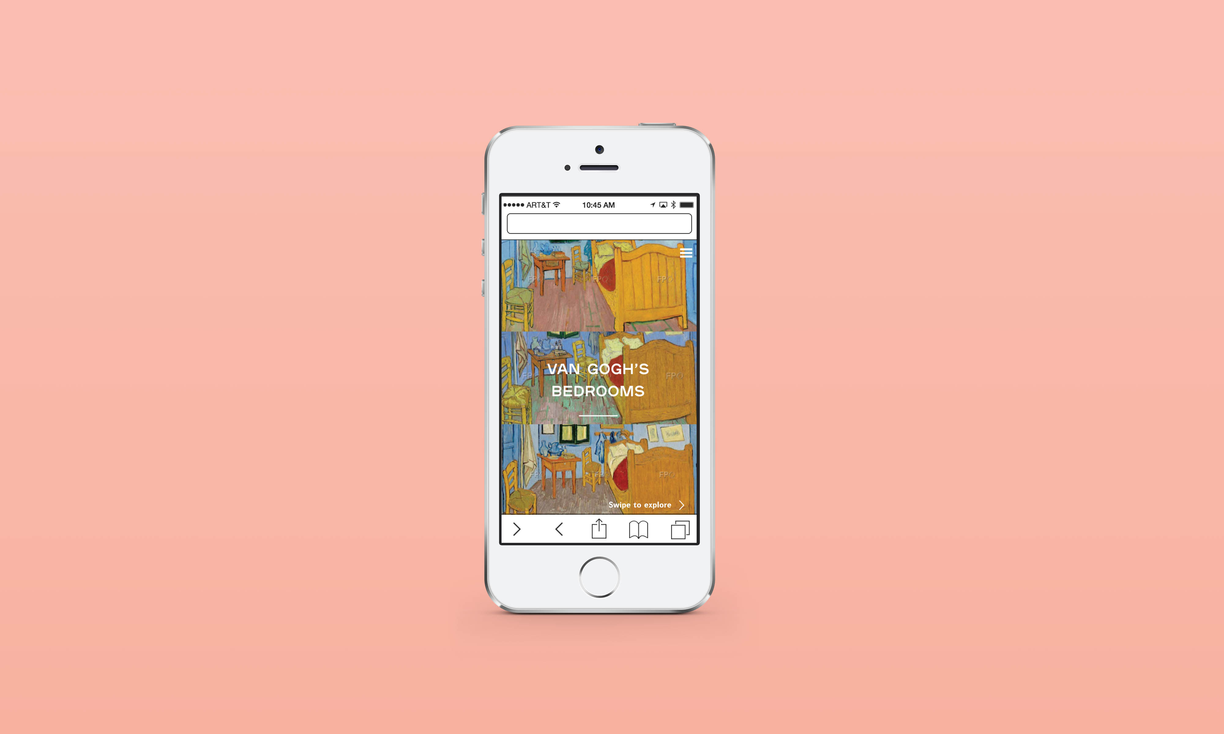 Art Institute of Chicago App Design