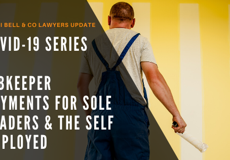 COVID-19 Series – JobKeeper Payments for Sole Traders & the Self Employed