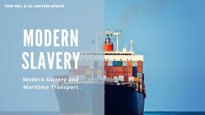 Maritime transport & modern slavery - are you overlooking a key link in your supply chain?
