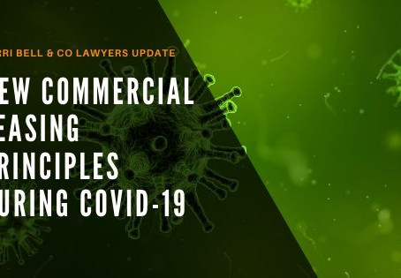 Mandatory Commercial Tenancies Code during Covid-19