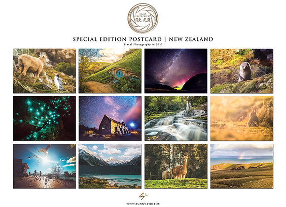 英倫光影.明信片特別版 : 紐西蘭篇 | Sunny Photography Postcard : New Zealand