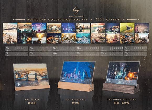 英倫光影.明信片 | Sunny Photography Postcard Vol.7 x Calendar 2021