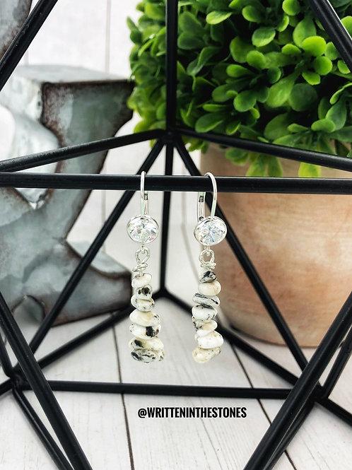 Stone Cairns {White Buffalo} Earrings