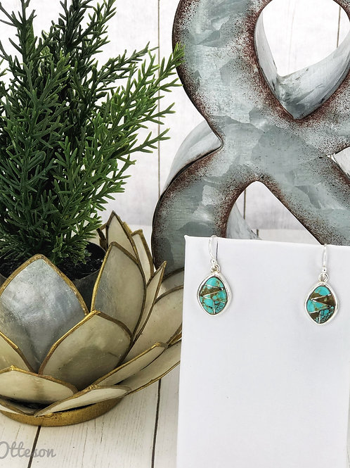 Tranquility {Sierra Nevada} turquosie earrings