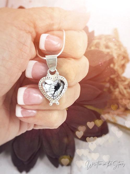 Heartsong {White Buffalo } necklace
