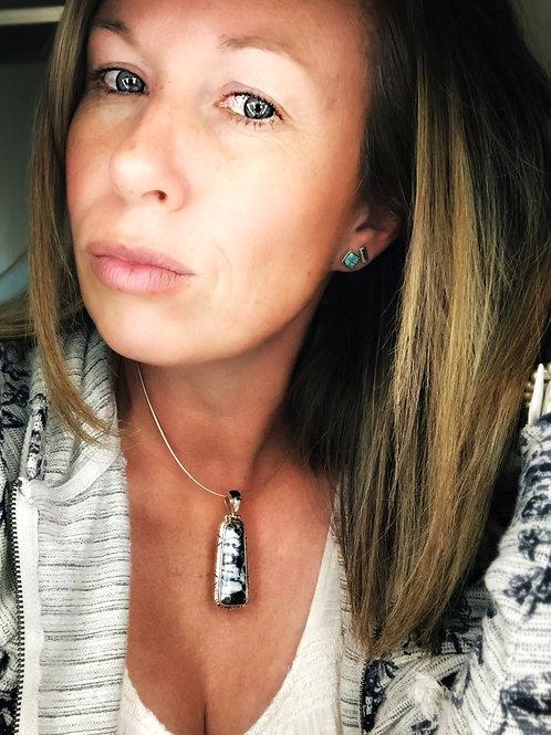 Bohanonn {white buffalo } pendant