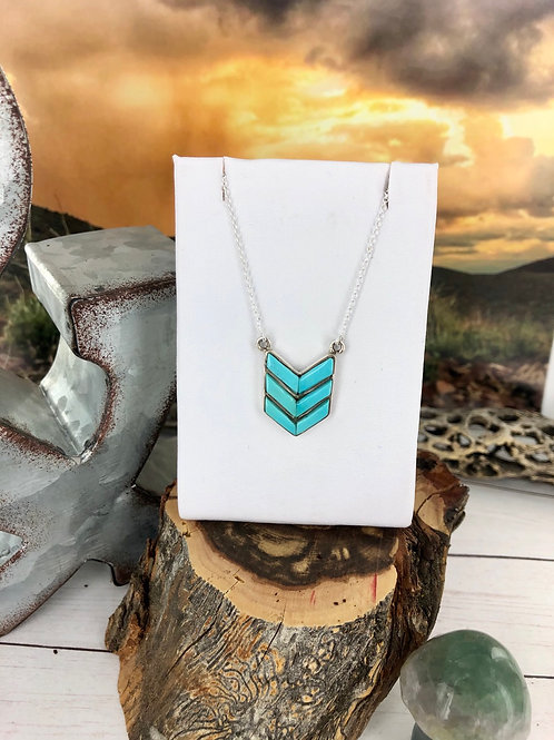 Savannah {Blue Moon turquoise} pendant