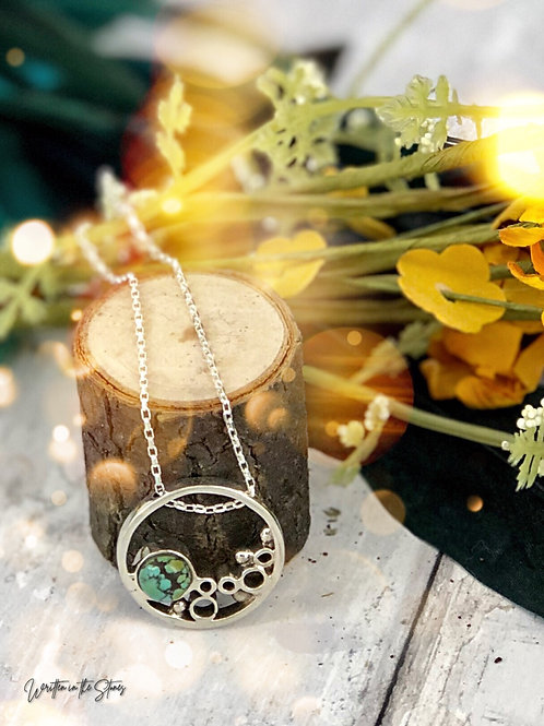 Circle of Hope{turquoise} Necklace