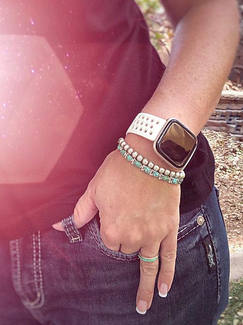 etoiles {Stars} (Turquoise) Bracelet