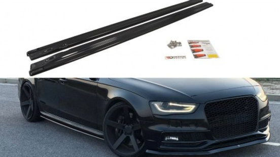 SIDE SKIRTS DIFFUSERS AUDI S4 B8 FACELIFT (2012-UP)