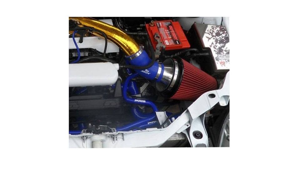 AIRTEC COSWORTH GROUP A CONE FILTER WITH BLACK OR SILVER ALLOY TRUMPET FOR MK2 F
