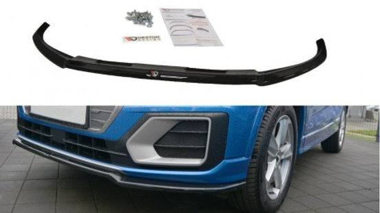 FRONT SPLITTER V.1 AUDI Q2 MK1 SPORT 2016 - ONWARDS