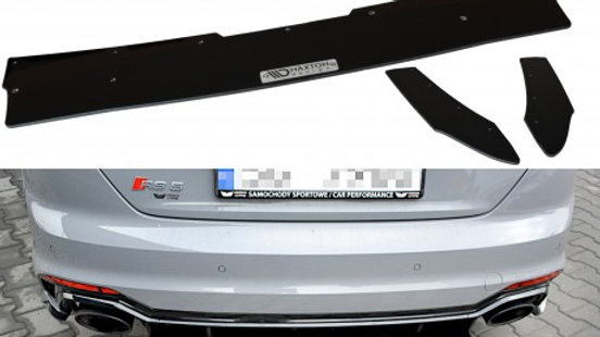 REAR DIFFUSER V.1 AUDI RS5 COUPE MK2 (F5) (2017-UP)