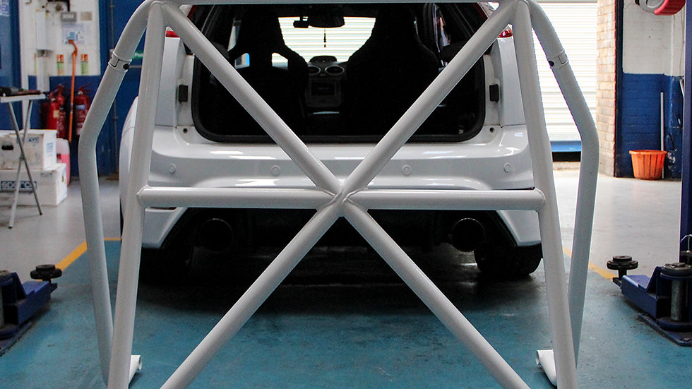 Clubsport by AutoSpecialists Bolt In Rear Cage for Mk2 Focus ST & RS