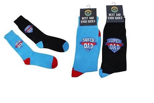 Super Dad Business Socks