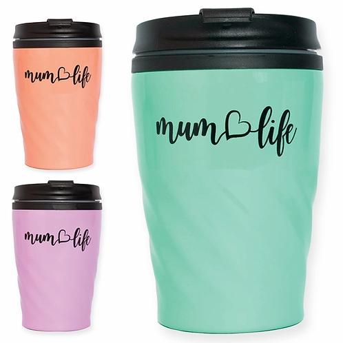 Mum Life Thermal Travel Mug